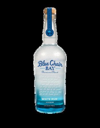 Blue Chair White