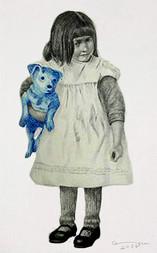 portrait with dog / retrato con perro