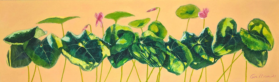 INTERACTIONS -  Galina Stefanova fine art painting final.jpg