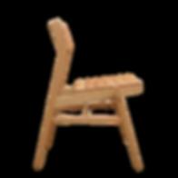木製 ダイニングチェア 木の座面