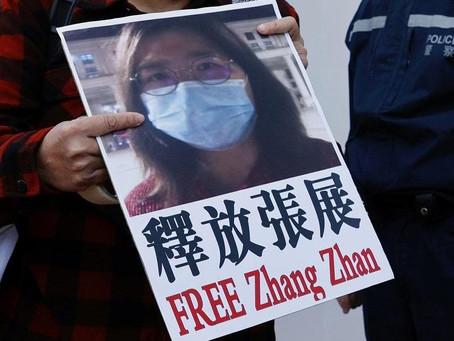 """Arrecia la propaganda imperialista anti-China: El caso de la supuesta """"periodista"""" Zhang Zhan"""