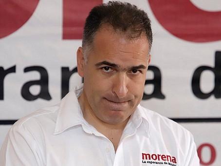 Mario Bracamonte y la Nomenclatura de Morena en Puebla.