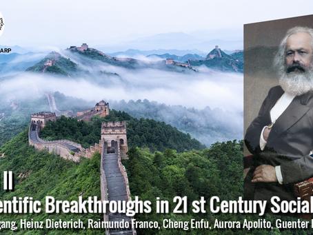 Scientific Breakthroughs in 21 st Century Socialism Vol II