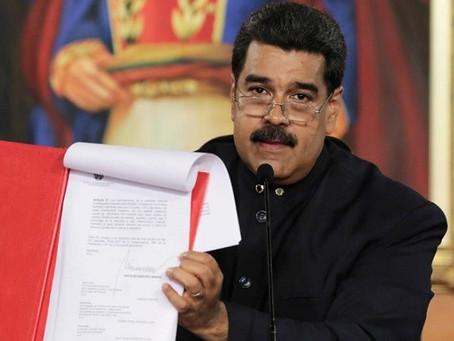 """Maduro promete """"recuperar"""" el salario hasta el 2030 y ser una """"patria feliz"""""""