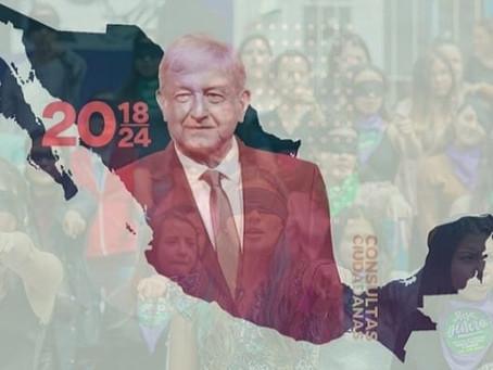 Feminicidios, Fin del Megaproyecto 4T y Elecciones federales de Junio.