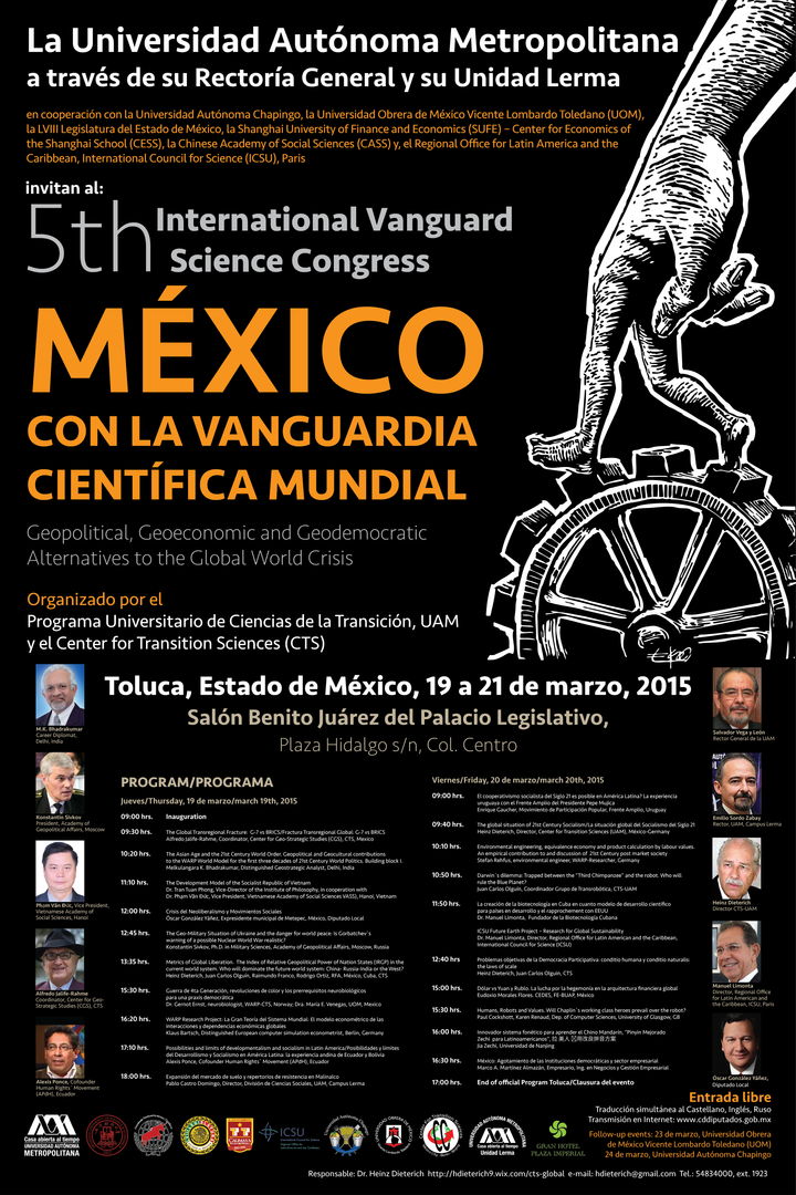 5th International Vanguard Science Congress