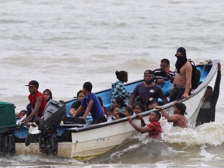 30 VENEZOLANOS SE AHOGAN EN ALTA MAR