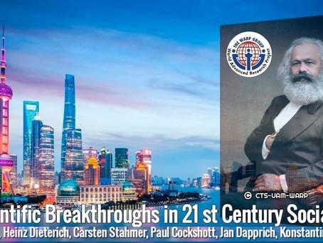 Scientific Breakthroughs in 21 st Century Socialism