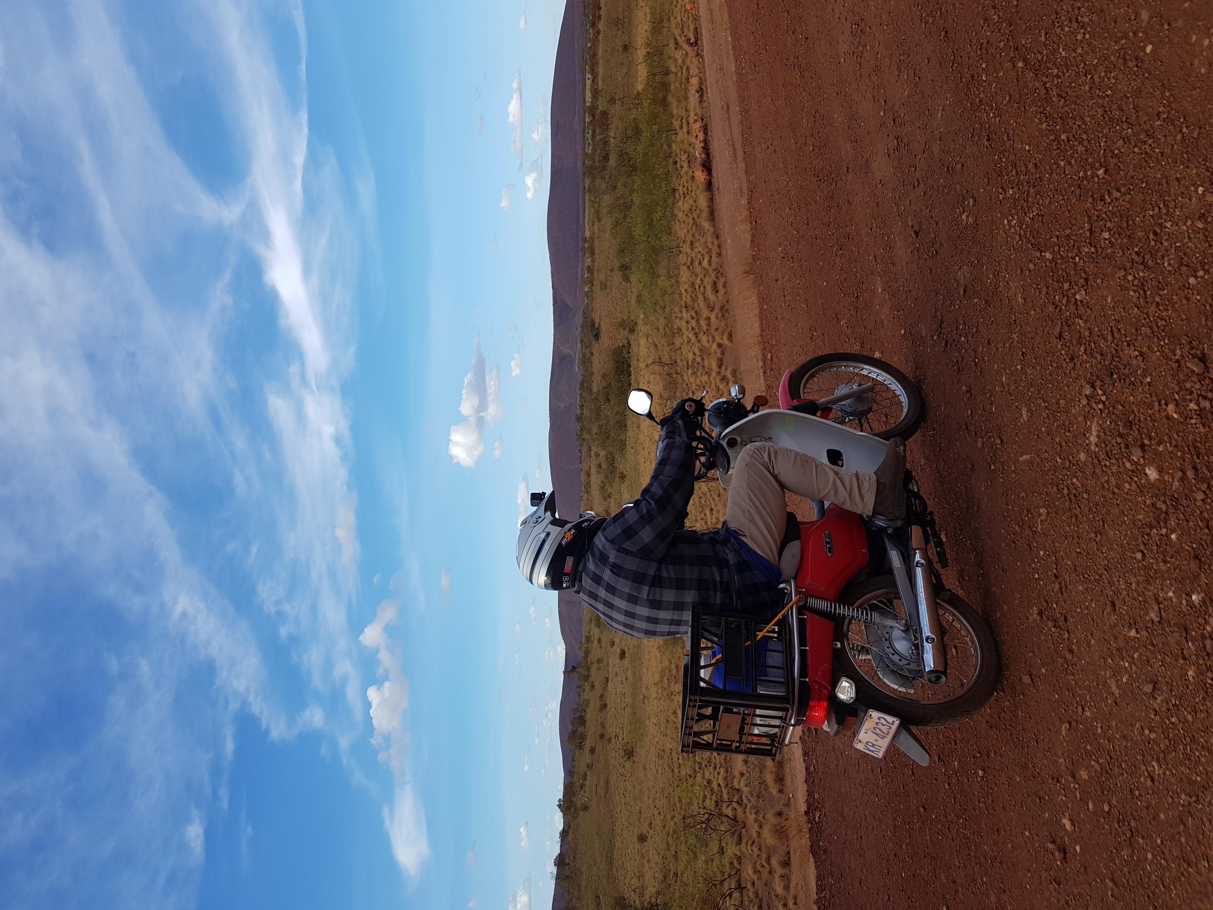 Pilbara Red Dog Challenge Postie