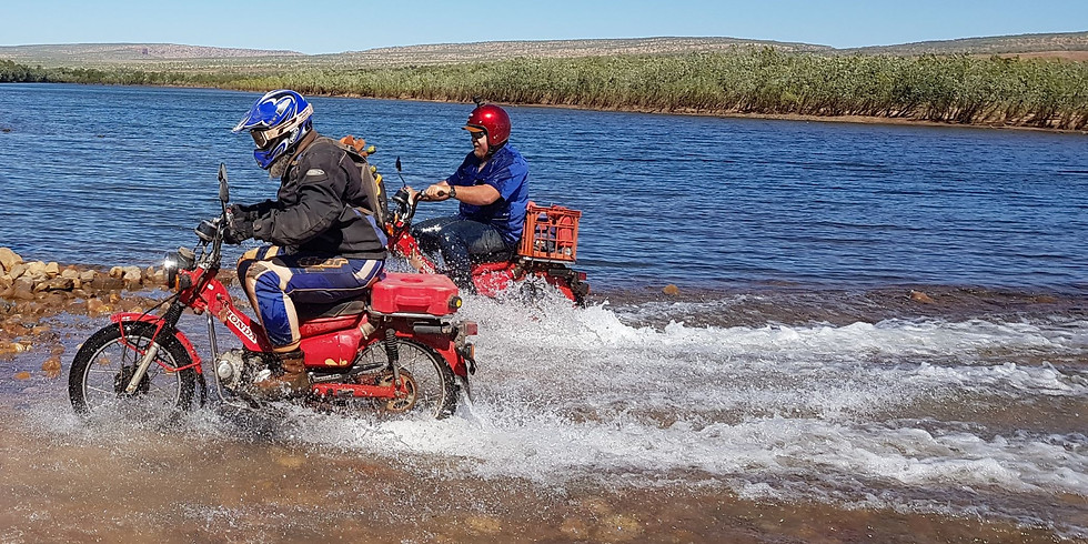 Gibb River Postie Bike Adventure -Expressions of interest only-