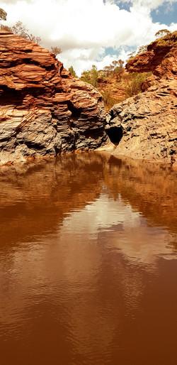 Hamersley Gorge after rain