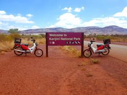 Karijini on a postie bike tour