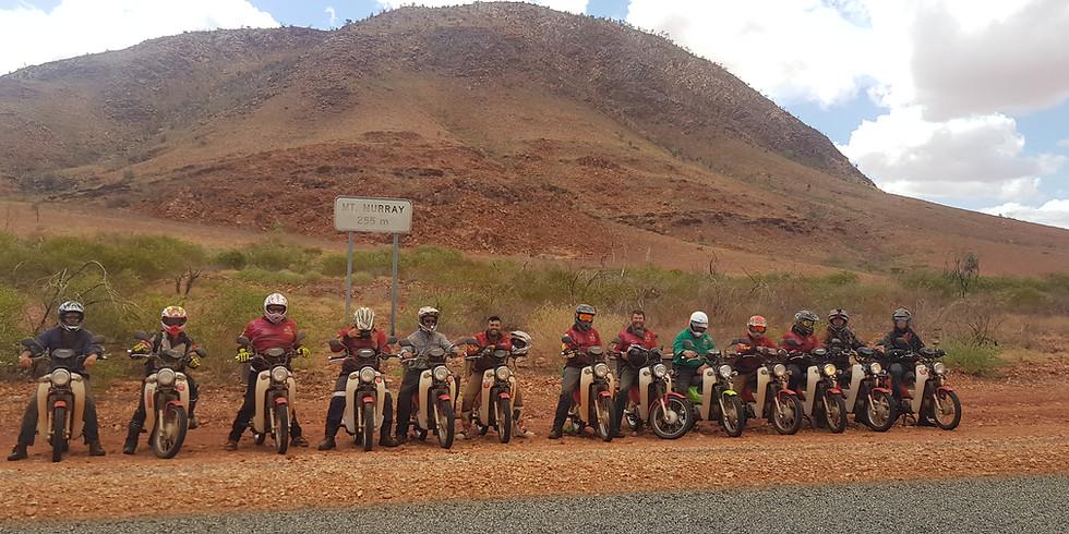 Bush Chook Postie Bike Adventure $1580 Second Ride Expressions Of Interest