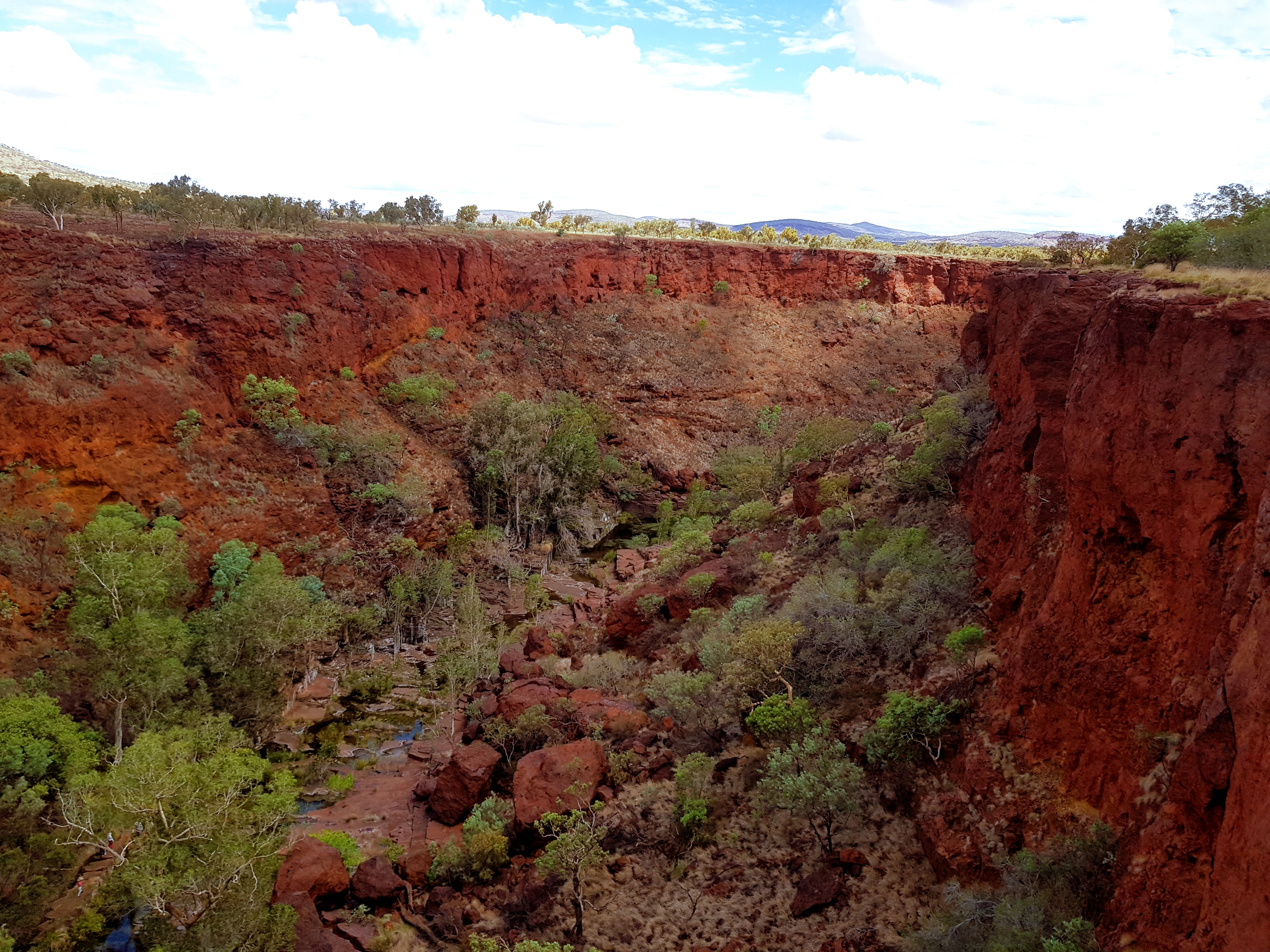 Gorges in Karijini National Park