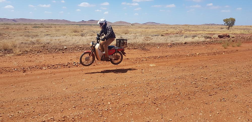 Postie Bike Tour Australian Outback
