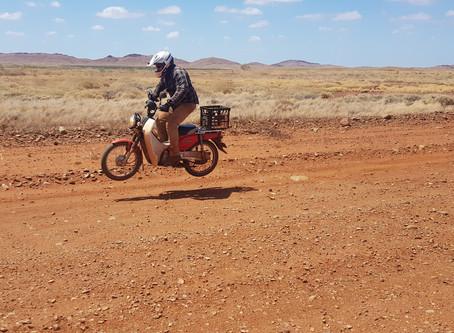 New adventure tour to show the Pilbara by postie bike