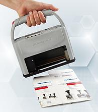 Printing cartons using the Reiner jetStamp from NCB Marking Equipment
