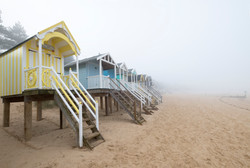 Our beach hut days