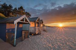 Beach huts of Holkham