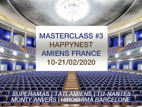 Masterclass happynest #3 - Amiens