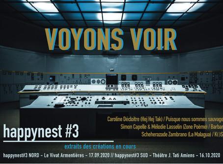 Soirée happynest#3 SUD au Théâtre J. Tati Amiens