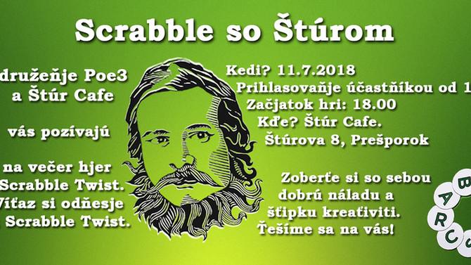 Scrabble so Štúrom