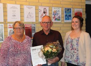 SMUK teater kårer Arne Jørgensen som æresmedlem