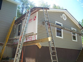 Siding & windows installed