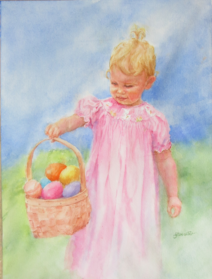 Mia on Easter