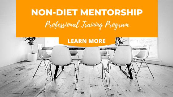 Non Diet Mentorshipe