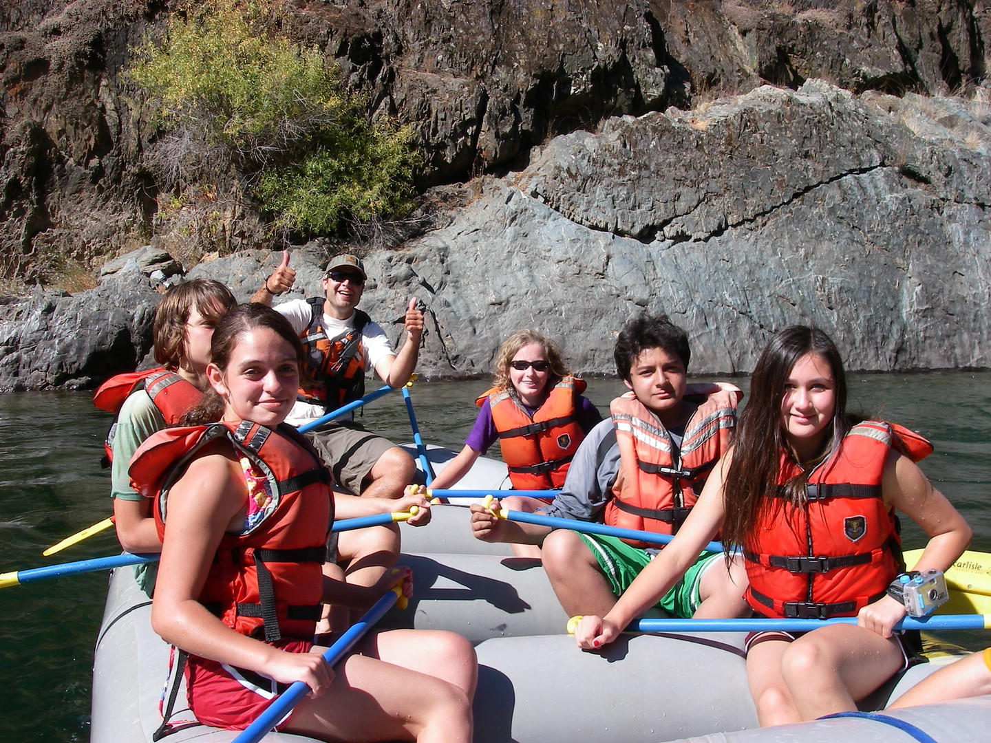 Fall Trips - Whitewater rafting