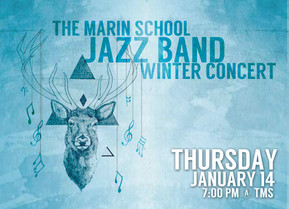 TMS Jazz Band Winter Concert!  Thursday, 1/14/16