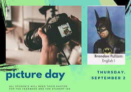 Picture Day is September 2