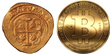 The Gold and BitCoin tussle.