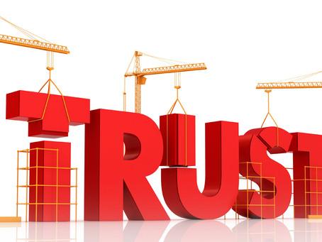 Turning trust around.