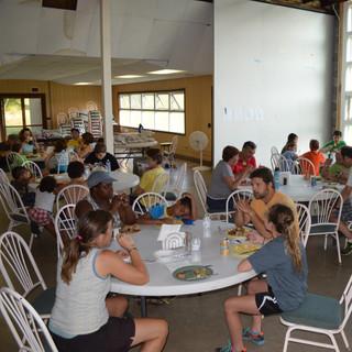 Fellowship at meals