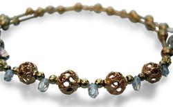 Necklace diamond drops