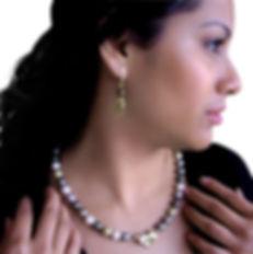 Jewelry designer, Mia Katrin for JEWEL COUTURE LLC, jewelry designer