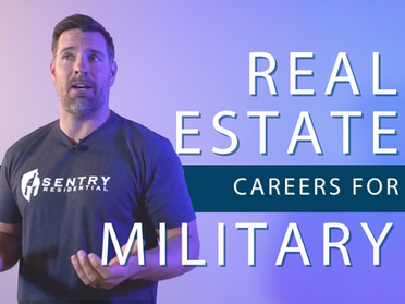 Real Estate Careers for Military