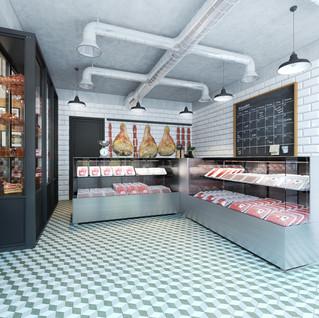 Butcher store