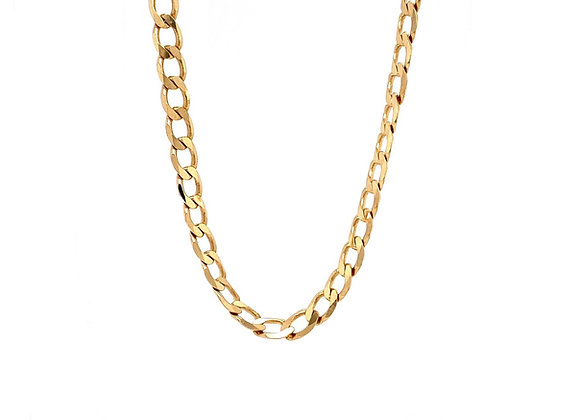 "14kt Yellow Gold 22"" 5mm Cuban Link Chain"