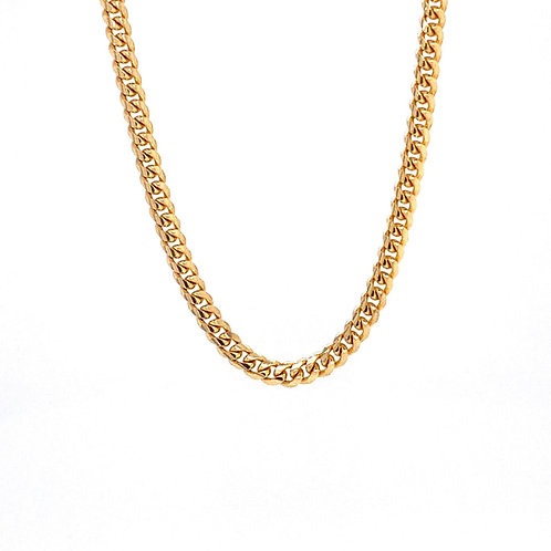 "14kt Yellow Gold 22"" 2.7mm Miami Cuban Link Chain"