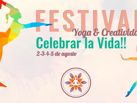 I Festival de Yoga & Creatividad: Celebrar la Vida!!