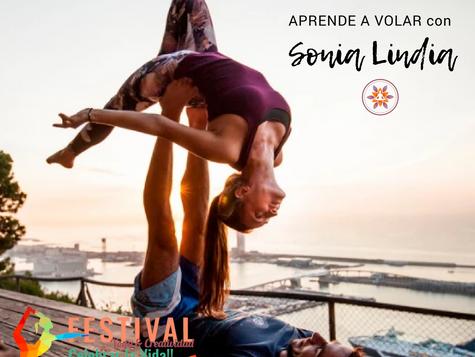 """Taller de Acroyoga: """"Aprende a volar"""" con Sonia Lindia"""