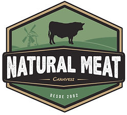 Natural meat logo