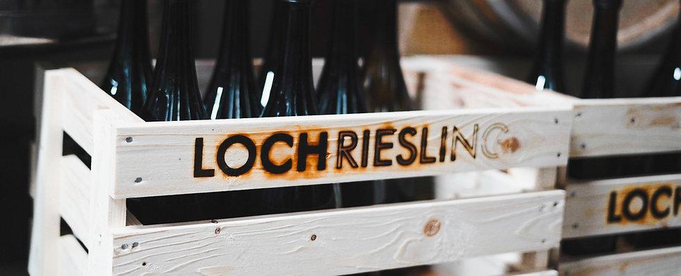Weinkiste Loch Riesling