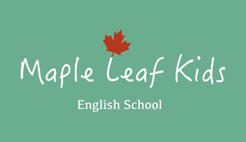 Maple Leaf Kids logo for site (sign gree