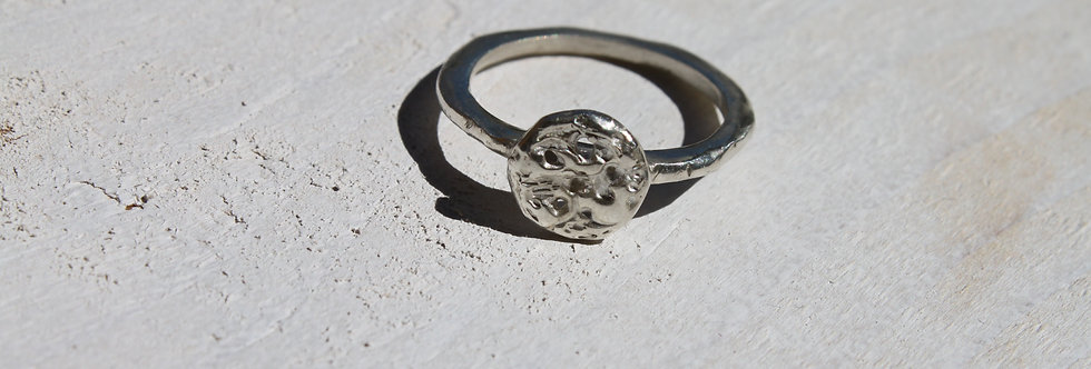 Small Moon Ring