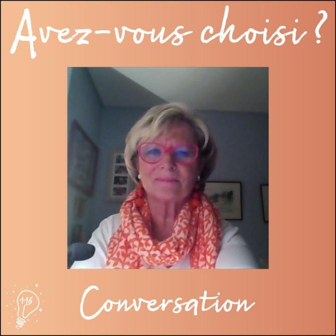 Conversation avec Isabelle Demeure