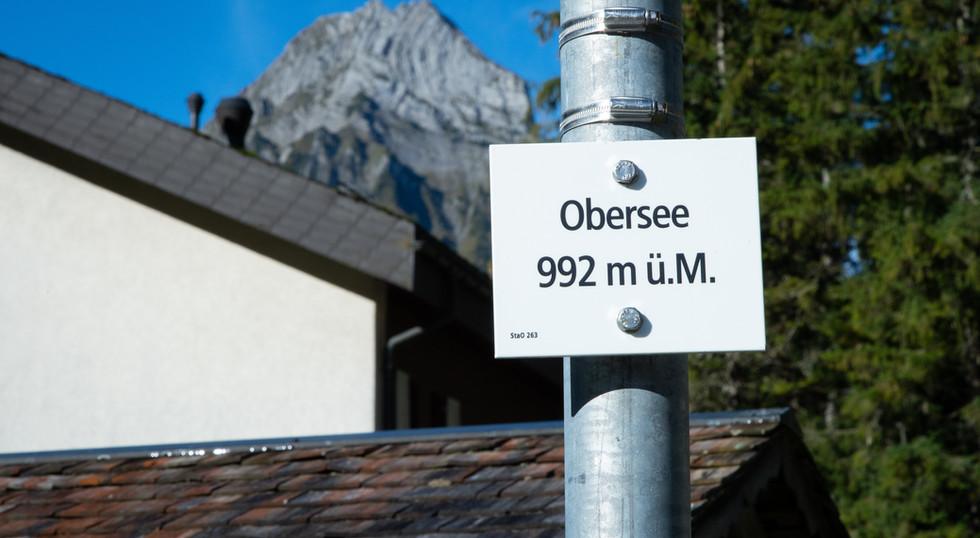 992 m.ü.m. Berghotel Obersee Näfels